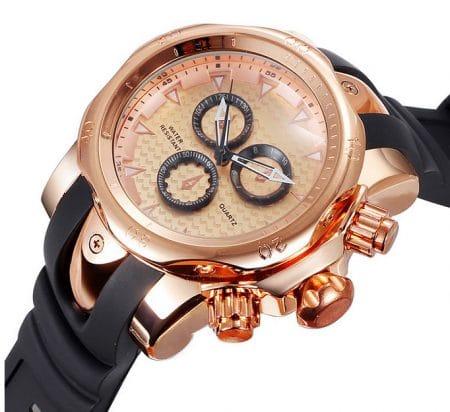 horloges aux montres-bracelets