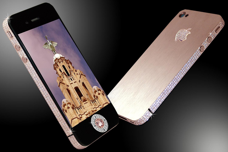 a33b4c8d4e25 Des diamants et de l or sur des portables   les trois modèles les plus  chers au monde