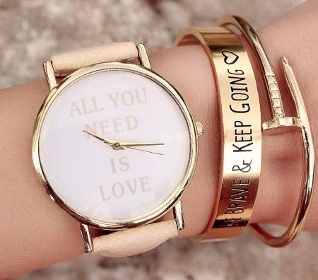Les montres femme tendance