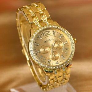 Des montres de luxes avec diamants