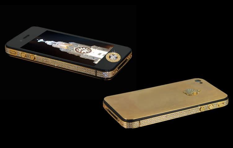 L' iPhone 4S Elite Gold