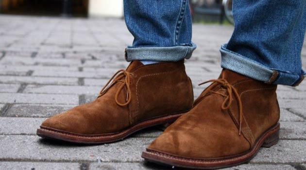 La nouvelle collection hiver de chaussures pour homme