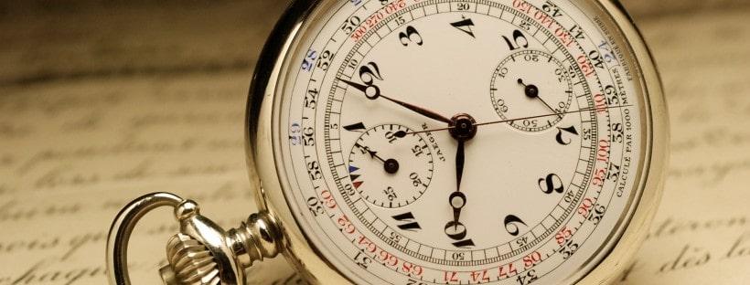 L'élégance même avec la montre à gousset