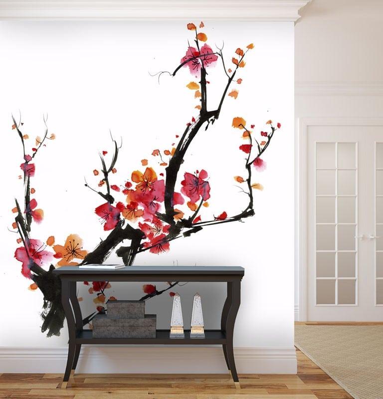 Un papier peint japonais pour une atmosphère zen
