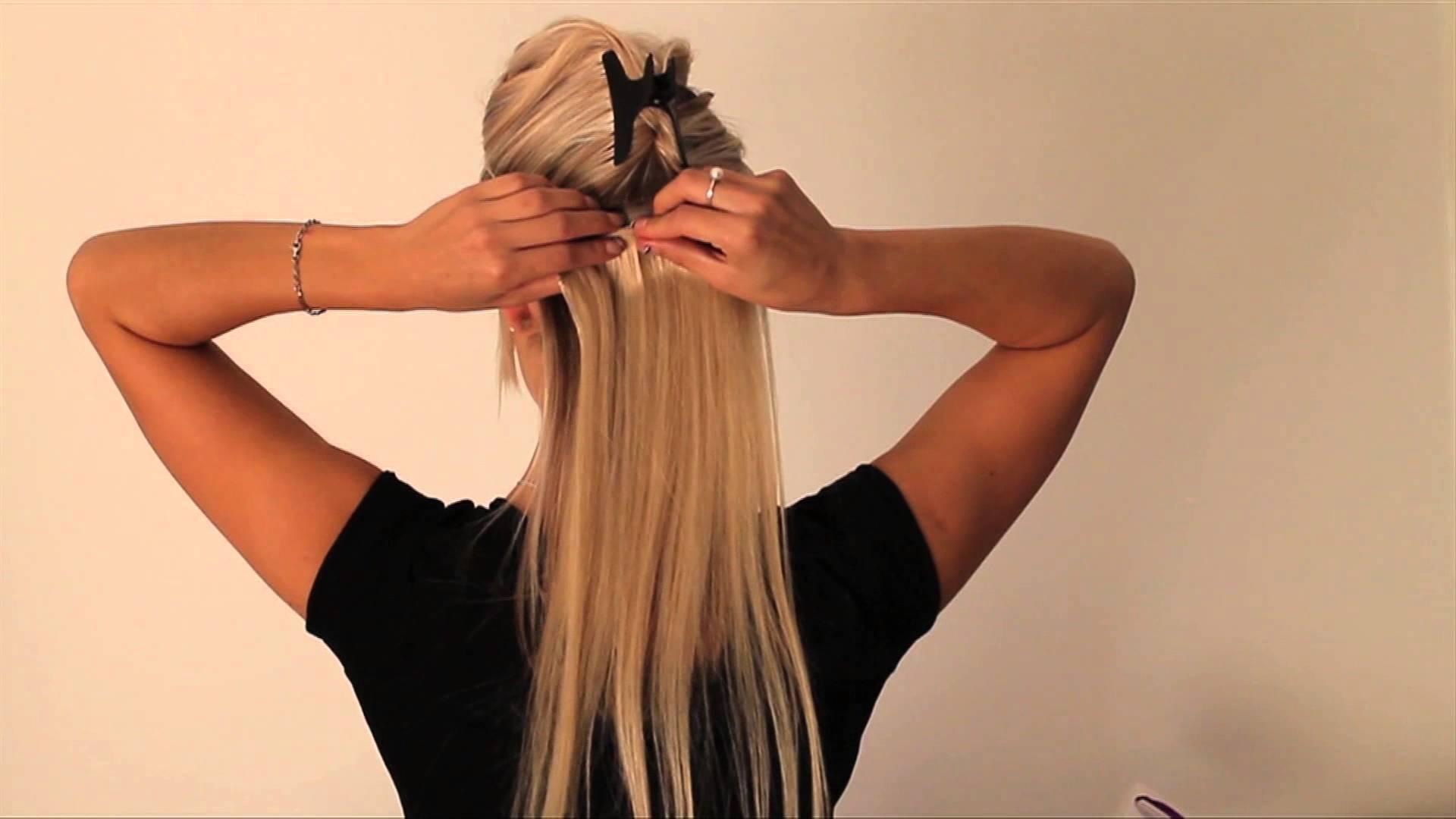 Extension de cheveux a clips