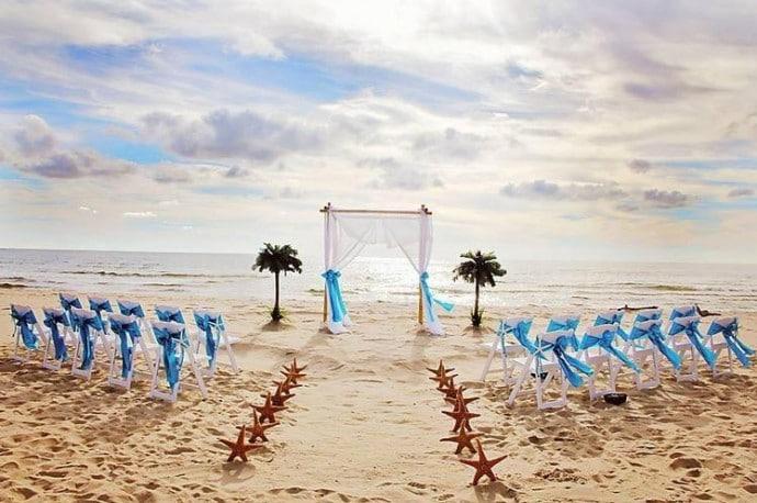 Réaliser ses rêves avec un mariage au bord de la mer