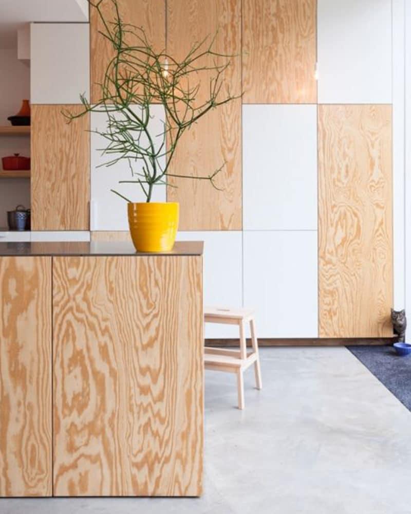 Contreplaqué pour le design d'intérieur – Le bois agréablement chaud à la maison !