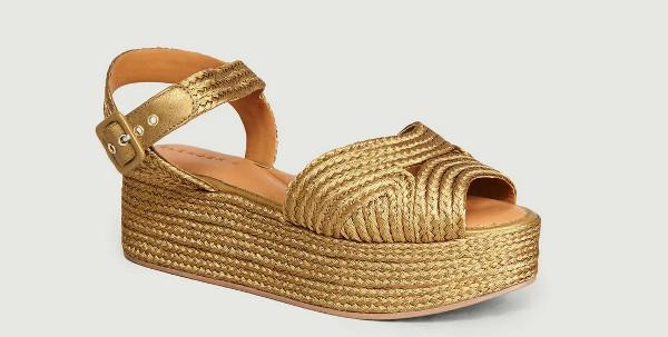 Comment porter des sandales compensées toute l'année ?